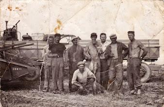 Photo: Dudás József, Kosár Nándor, Kollár Károly, Ádám István?, Riedlmayer János, Magyarics Ferdinánd, Bencsik György, Gaál Lajos