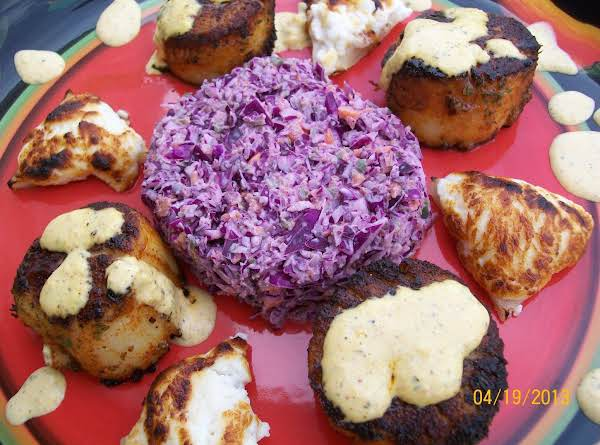 Blackened Scallops Recipe