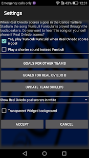Widget for Real Oviedo - náhled