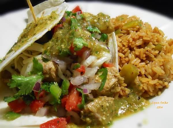 Chile Verde Tacos Recipe