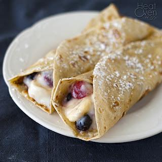 French Toast Breakfast Wraps Recipe