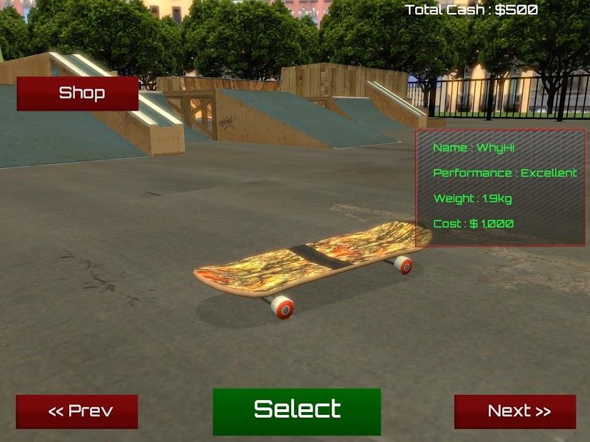 Skateboard Free screenshot 9