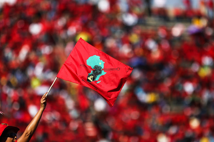 The EFF is 'using technology to push the revolution' as it launches the party's online merchandise store.