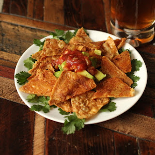 Taco Dip and Chicken Chips.