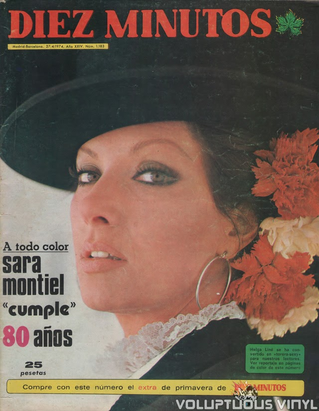 Helga Line Diez Minutos Magazine Cover