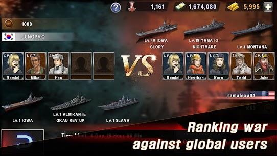 WARSHIP BATTLE: 3D World War II Mod Apk 3.4.0 (Unlimited Money) 7