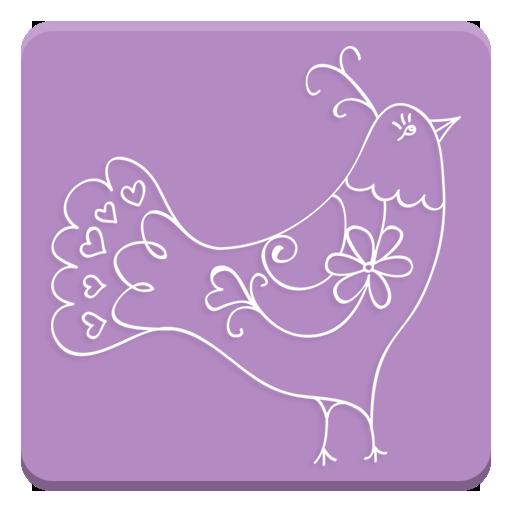 Sticker Set: Fine Birds