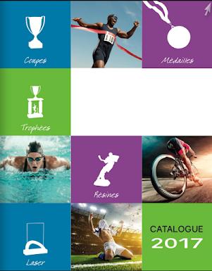 Catalogue coupe médaille trophée personnalisable