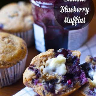 Banana Blueberry Muffins.