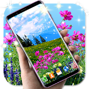 HD Flowers Live Wallpaper \ud83c\udf3b Flower Field Themes