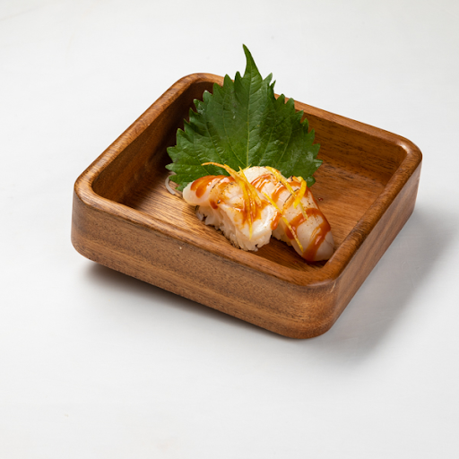 177. Scallop Hotate Torched Sushi