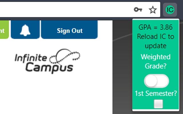 Infinite Campus GPA