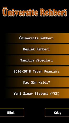 u00dcniversite Rehberi 2018 v 4.8.2 screenshots 1