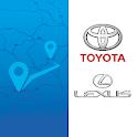Toyota Lexus QRcode Map Update icon