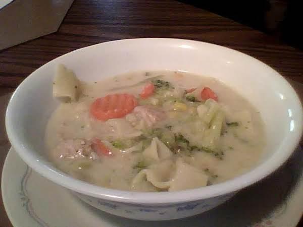 Alfredo Soup Recipe