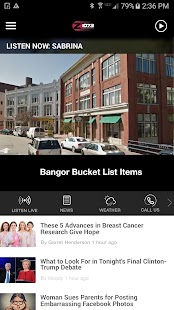 Z107.3 - Bangor's #1 Hit Music Station (WBZN) - náhled