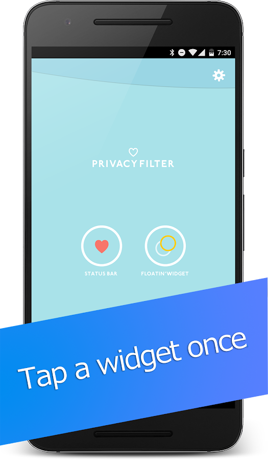 Privacy Filter Pro - guard from prying eyes- screenshot