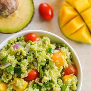 Guacamole Quinoa with Mango Recipe