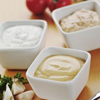 Veggie Crudites with Three Dips Recipe