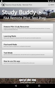 Remote Pilot Drone Test Prep- screenshot thumbnail