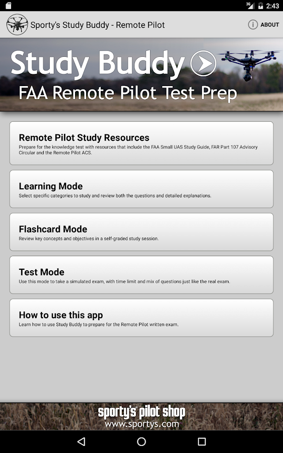 Remote Pilot Drone Test Prep- screenshot