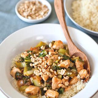 Spicy Chicken and Bok Choy Stir-Fry
