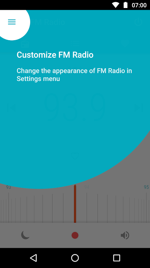 Motorola FM Radio- screenshot