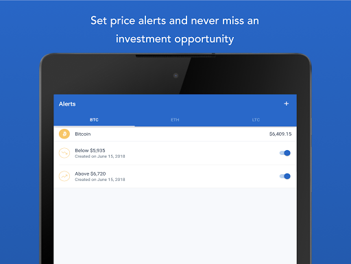 Coinbase u2013 Buy and sell bitcoin. Crypto Wallet for Android apk 10