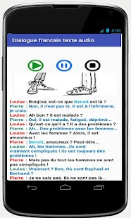 french conversations for beginners audio texte- screenshot thumbnail