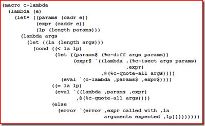 Ejemplo de código de lenguaje funcional