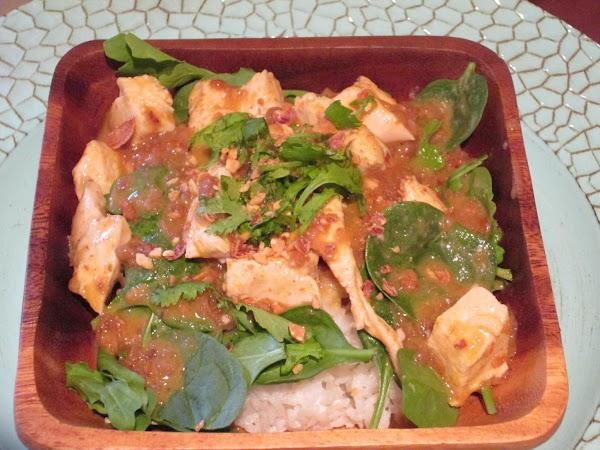 Chicken Rama In Thai Peanut Sauce Recipe