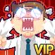 魔界電子 VIP: 会社と言う名のダンジョン(自動でアイテムを入手するRPGゲーム)