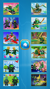 Loyd  Green NinJago Hero game - náhled