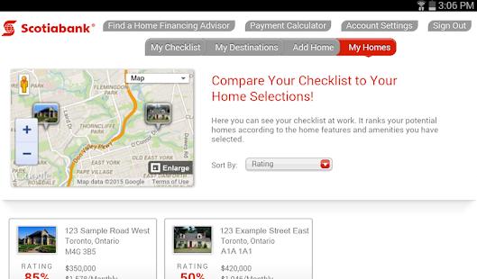 Scotiabank Dream Home Finder - screenshot thumbnail