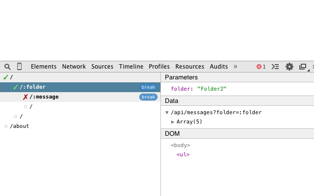 Developer Tools Plugin for Conkitty Route