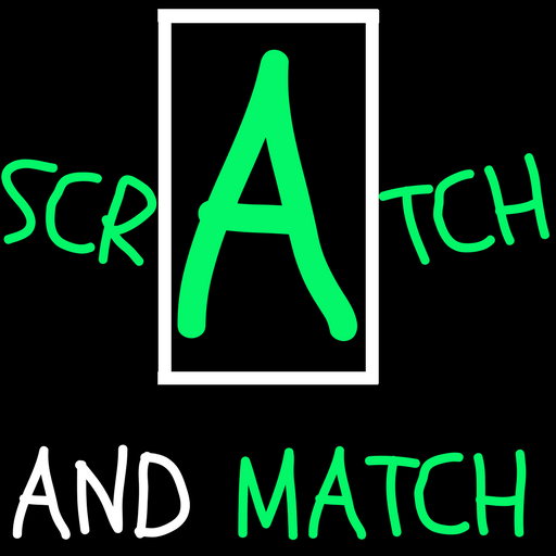 Scratch and Match Learning: ABC and 123 game