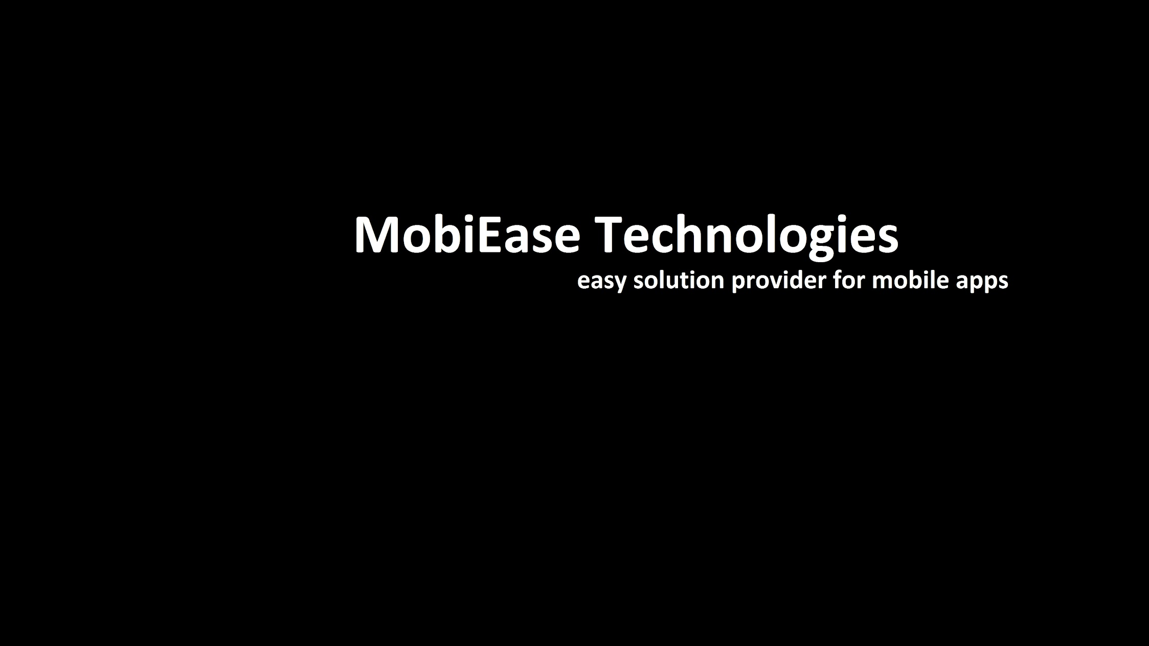 MobiEase Technologies