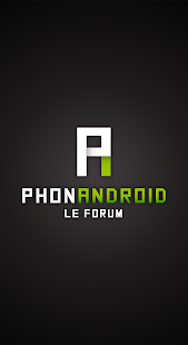 PhonAndroid Forum Capture d'écran