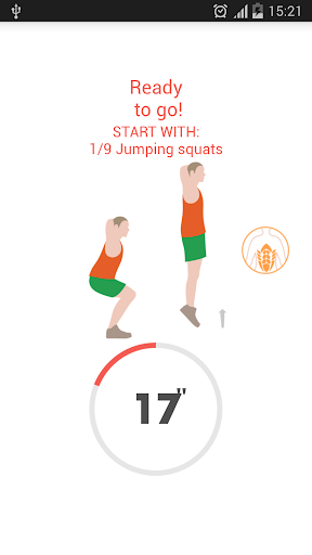 Abs workout 7 minutes screenshot 5