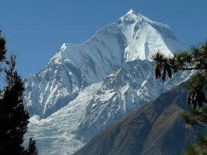 Photo: Dhaulagiri mit Eisfall