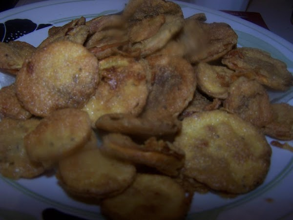 Fry several slices at one time but do not crowd skillet; turning as they...