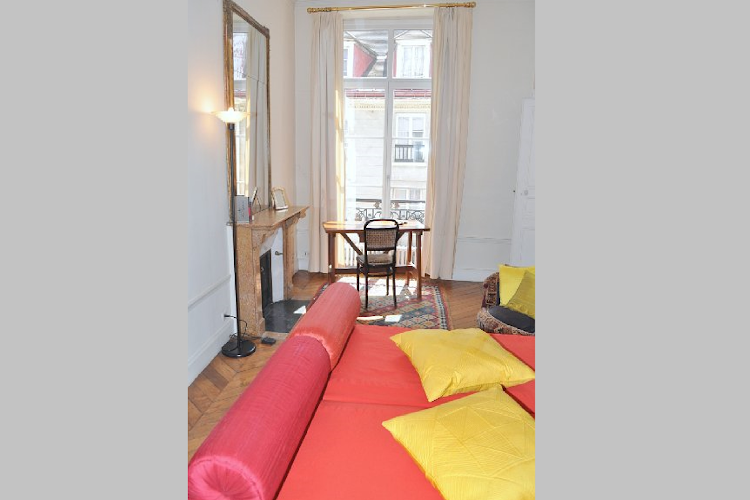 Bright living area at 2 bedroom Apartment in St Germain
