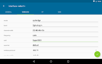 Download DroidBox Mikrotik config tool for android | Seedroid