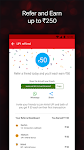 screenshot of Airtel Thanks - Recharge, Bill Pay, Bank, Live TV