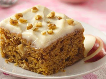 Pumpkin Apple Bars By Freda Recipe