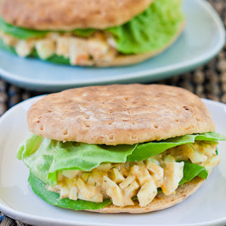 Easy and Healthy Egg Salad Sandwich.