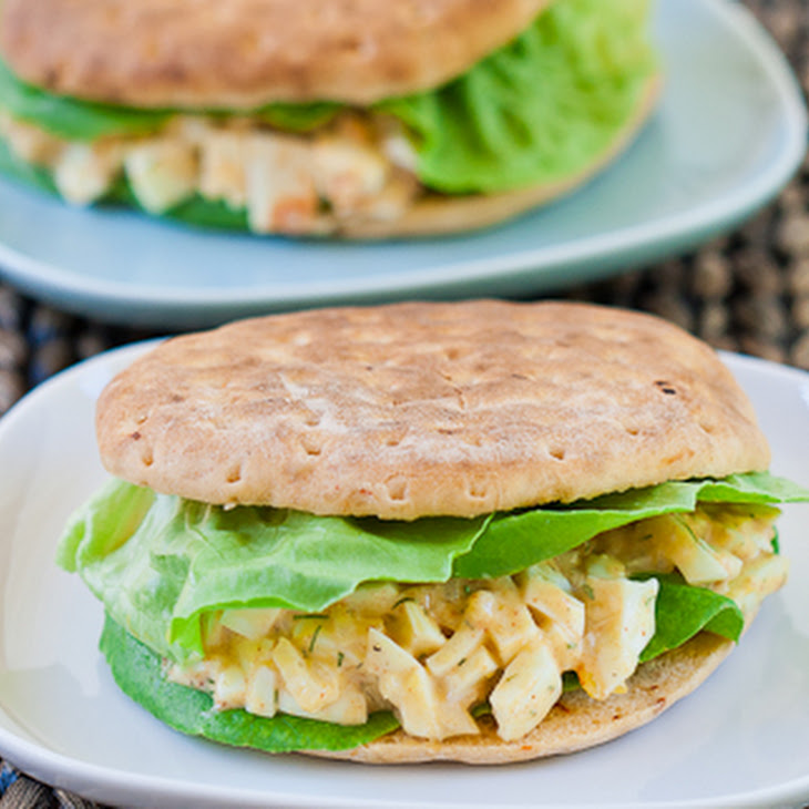 Easy and Healthy Egg Salad Sandwich Recipe
