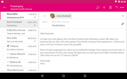 Telekom Mail screenshot 14