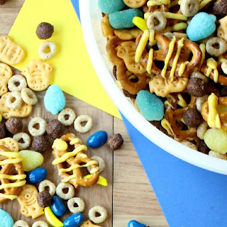 Minion Munchies Snack Mix.