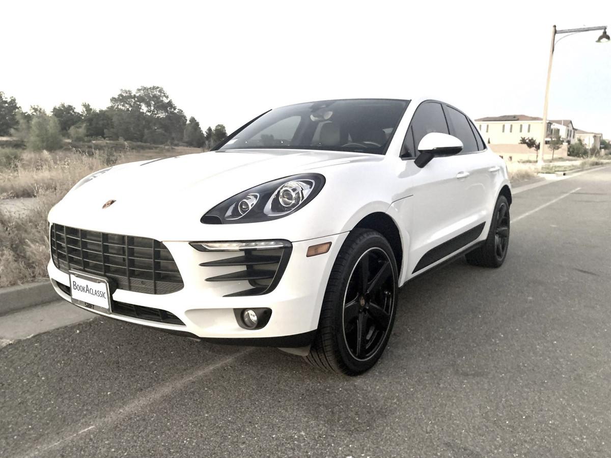 Porsche Macan Hire Lincoln